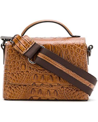 Коричневая сумка на плечо Mara Mac