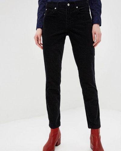 Черные брюки повседневные Gap