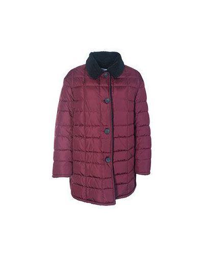 Зимняя куртка длинная повседневная Valentino Red