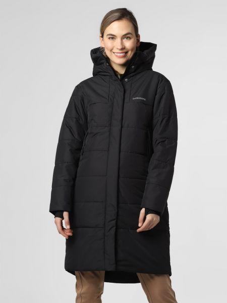 Czarny płaszcz pikowany Didriksons