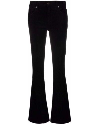 Черные джинсы из полиэстера 7 For All Mankind