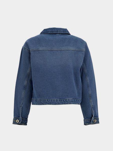 Джинсовая куртка - синяя Defacto