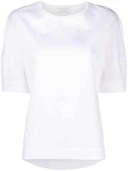 Хлопковая с рукавами белая футболка SociÉtÉ Anonyme
