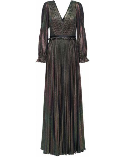Платье макси длинное - серое Marchesa Notte