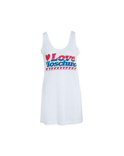 Футболка хлопковая повседневная Moschino Love