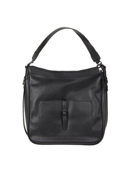 Czarny torba na zakupy z zamkiem błyskawicznym Esprit