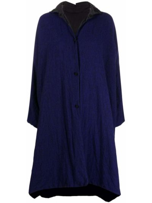 Синее длинное пальто Daniela Gregis