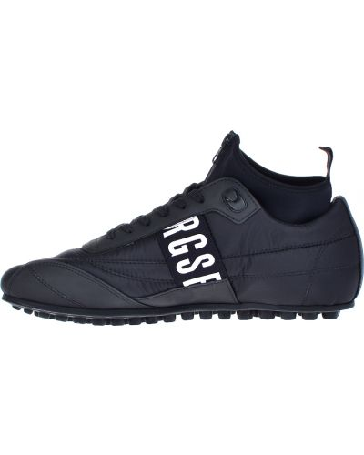 Кожаные кроссовки - черные Bikkembergs