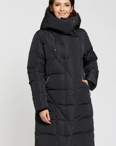 Утепленная куртка - черная D`imma