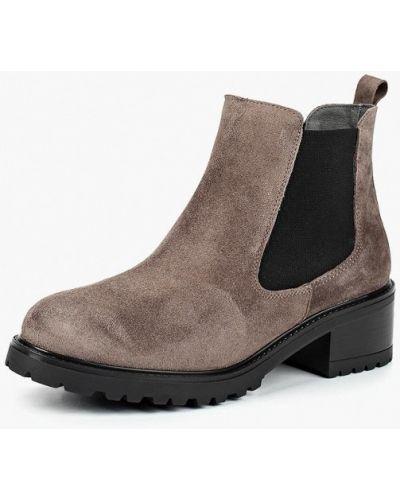 Ботинки челси осенние на каблуке La Coleccion