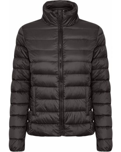 Czarna kurtka pikowana z długimi rękawami Part Two