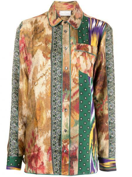 Блузка на пуговицах Pierre-louis Mascia