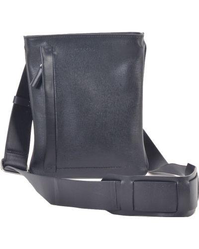 Черная кожаная сумка Iceberg