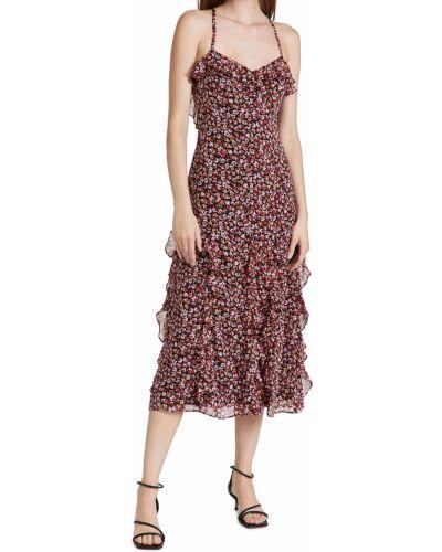 Платье на бретелях - черное Likely