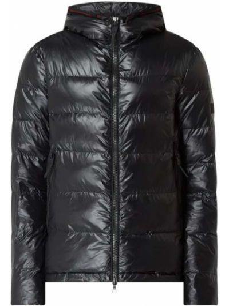 Czarna kurtka pikowana Peuterey