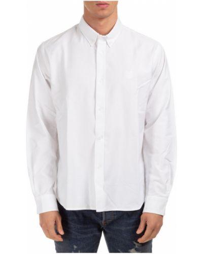 Biała koszula z haftem - biała Kenzo