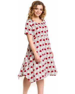 Летнее платье через плечо повседневное Novita