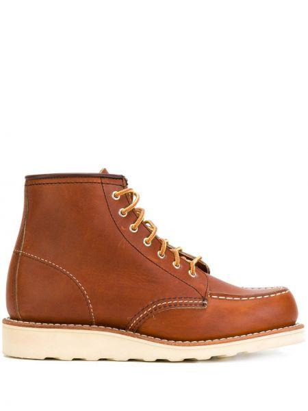Кожаные лоферы - коричневые Red Wing Shoes
