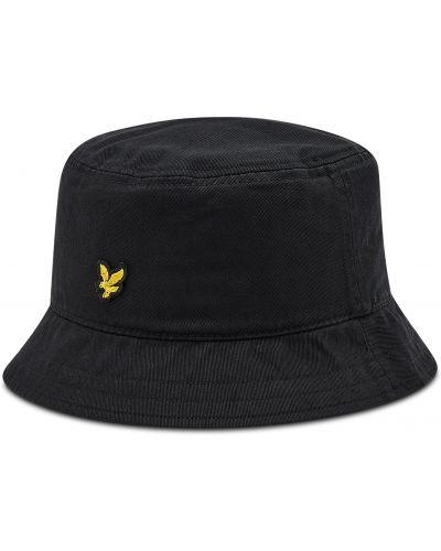 Czarna czapka Lyle & Scott