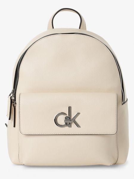 Plecak beżowy Calvin Klein
