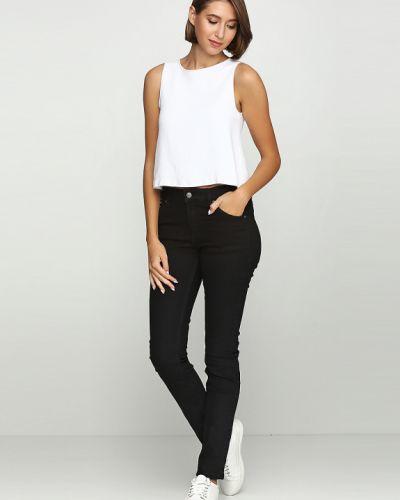 Черные зауженные джинсы Cheap Monday