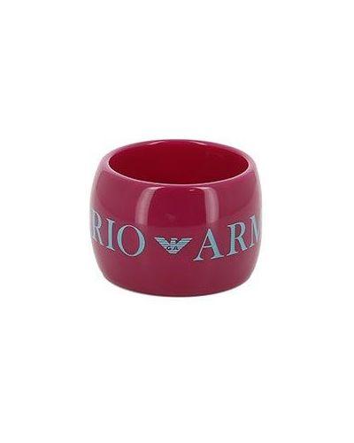Розовый браслет Emporio Armani