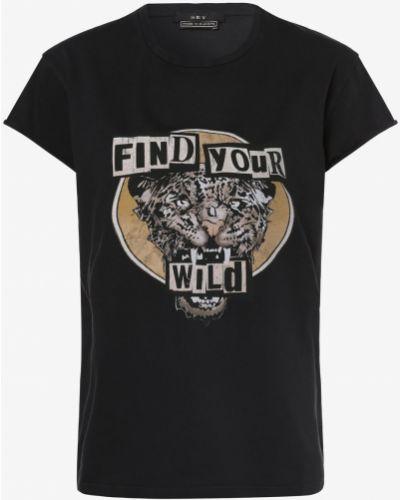 Czarny t-shirt vintage Set