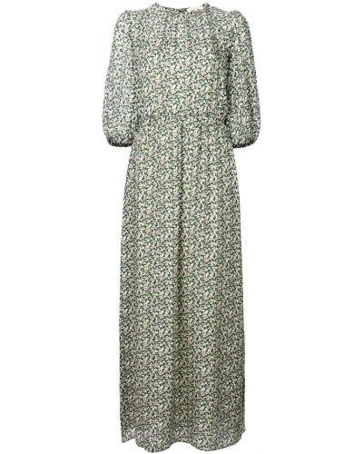 Платье с цветочным принтом приталенное с рукавом 3/4 Vanessa Bruno