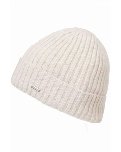 Белая шапка шерстяная Finn Flare
