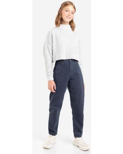 Брюки вельветовые - синие Gloria Jeans
