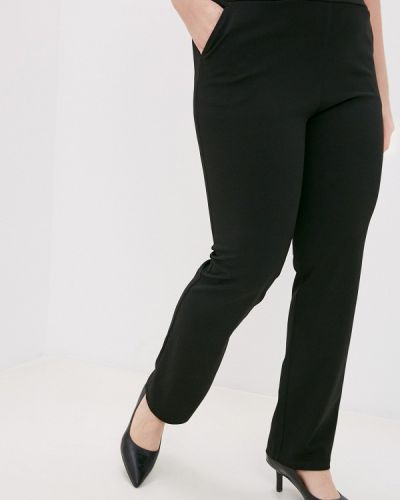 Черные зауженные брюки Svesta