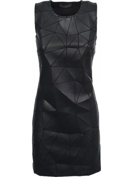 Платье из вискозы - черное Frankie Morello