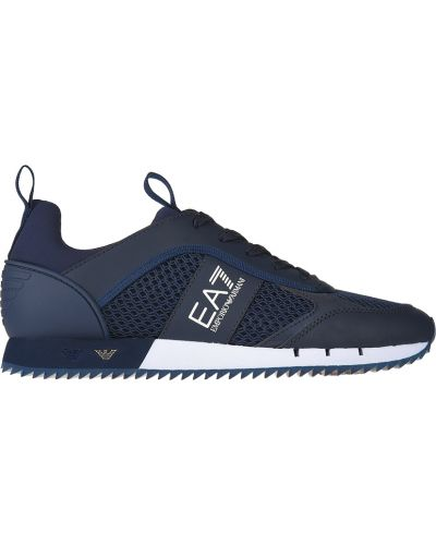 Кроссовки синий Ea7 Emporio Armani