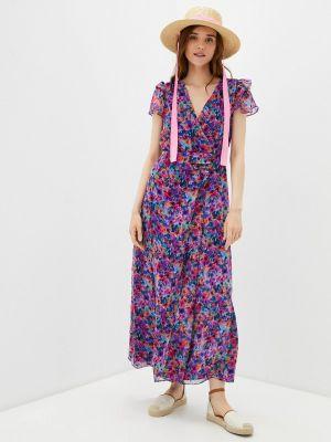 Платье с запахом Naf Naf