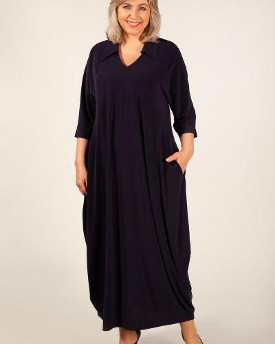 Платье в стиле бохо с отложным воротником милада