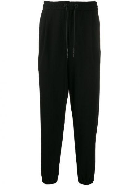 Czarne spodnie z wiskozy miejskie Mcq Alexander Mcqueen