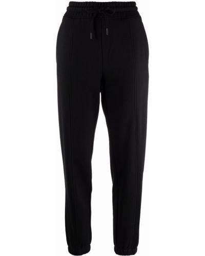 Черные брюки с логотипом Calvin Klein