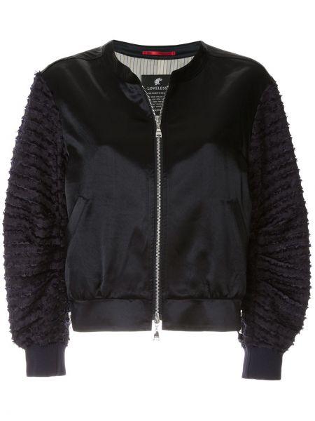 Куртка с вышивкой на молнии Loveless