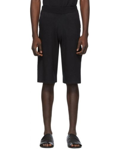 Черные короткие шорты с карманами Frenckenberger
