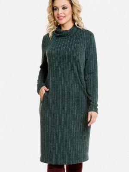 Зеленое повседневное платье Venusita