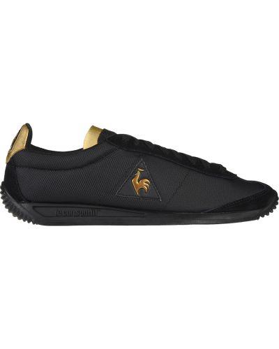 Кроссовки замшевые черные Le Coq Sportif