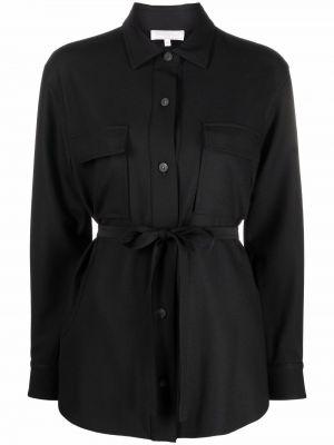Czarna klasyczna koszula Antonelli