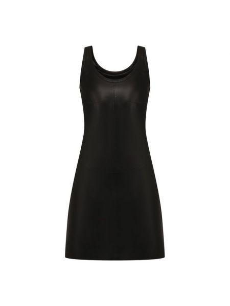 Кожаное платье с подкладкой Helmut Lang