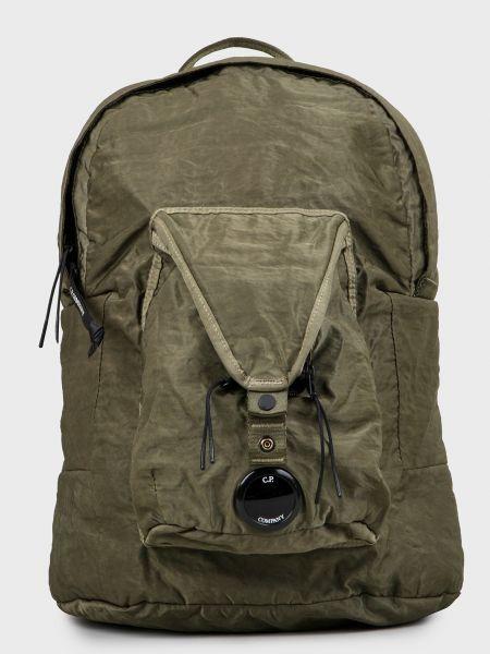 Текстильный рюкзак - зеленый C.p. Company