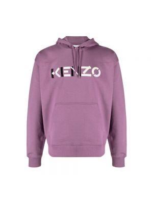 Sweter - fioletowy Kenzo