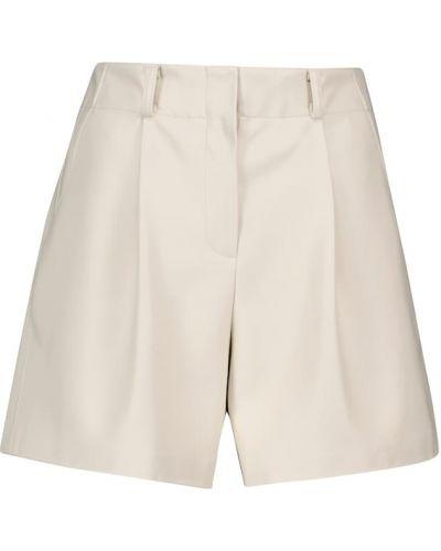 Белые короткие шорты Frankie Shop