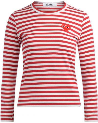 T-shirt w paski Comme Des Garcons Play