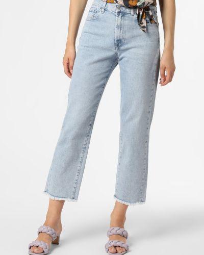 Klasyczne mom jeans - niebieskie 7 For All Mankind