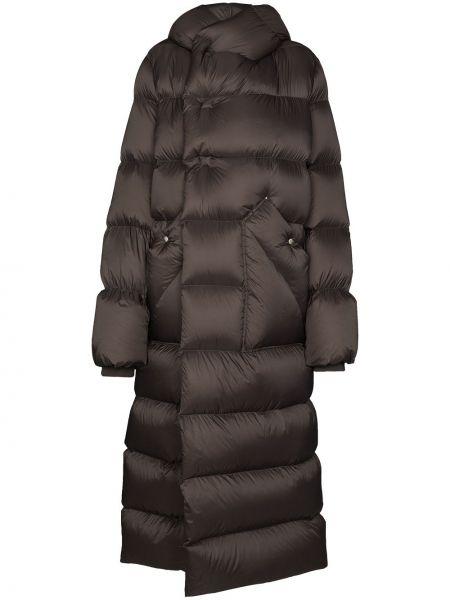 Bawełna wełniany płaszcz Rick Owens