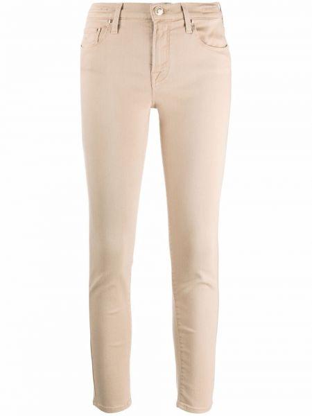 Укороченные синие зауженные джинсы классические Jacob Cohen